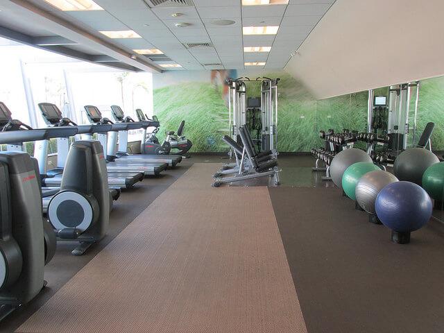 gym, fitness center, westin south coast plaza, south coast plaza hotel, hotel gym, costa mesa