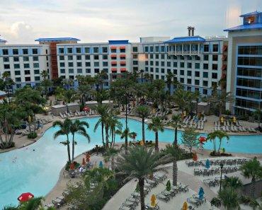 Caribbean Theme at Loews Sapphire Falls Resort at Universal Orlando