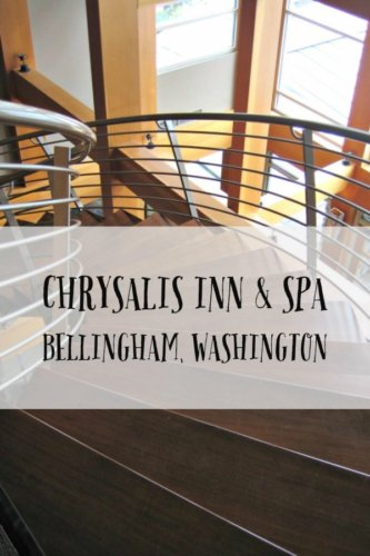 The Chrysalis Inn & Spa is situated on Bellingham Bay near Fairhaven and incorporates Pacific Northwest beauty into its decor and amenities.