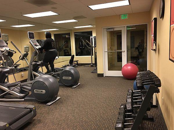 Fitness Center at Holiday Inn Oakland