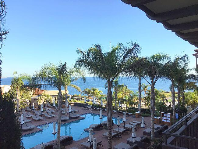 Ocean View Guest room view at Terranea