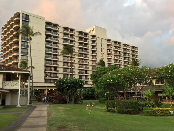 Tower building, Royal Lahaina Resort, Ka'anapali, Maui, Hawaii