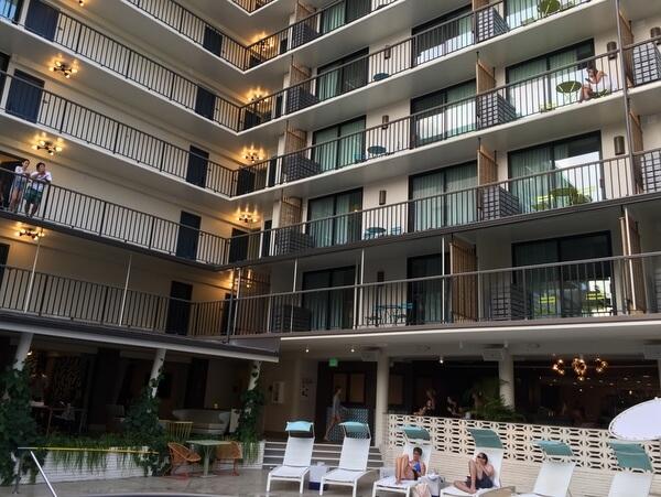 Exterior, Surfjack Hotel, Waikiki, Honolulu, Hawaii