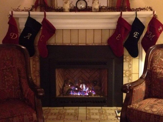 arbor guest house, historic inns of napa, fireplace, napa, california