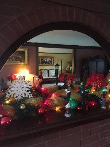 beazley house, napa bed & breakfast holiday tour, christmas, napa, california