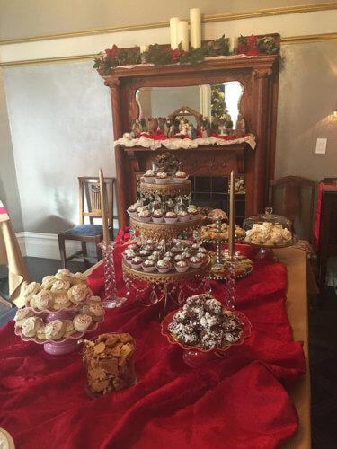 la belle epoque, bed & breakfast, historic inns of napa, desserts, napa, california