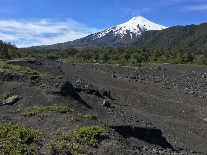 Villarrica Volcano, near Hotel Cumbres del Sur, Pucon, Chile