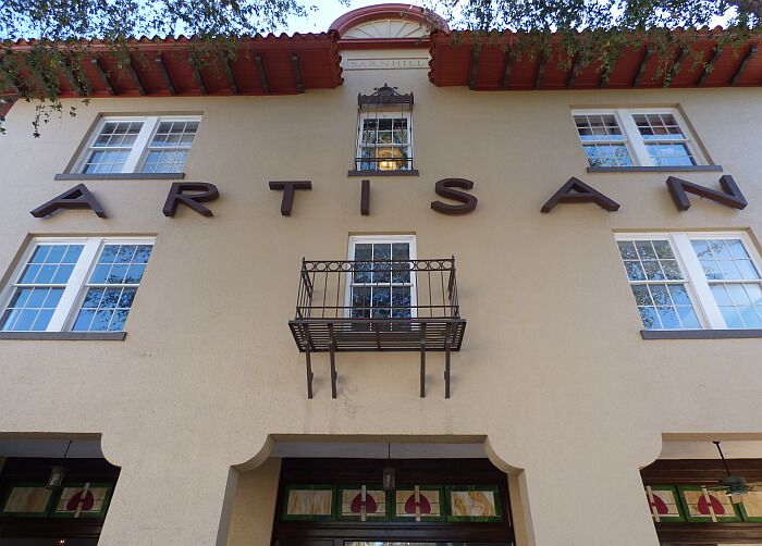 Artisan Downtown boutique hotel Deland