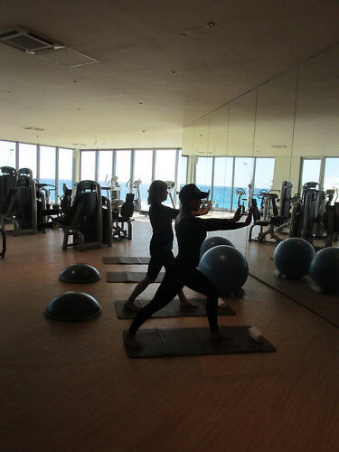 yoga, fitness center, grand velas los cabos, los cabos, mexico