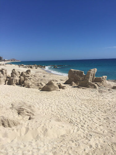 beach, grand velas los cabos, sea of cortez, pacific ocean, white sand, mexico, los cabos