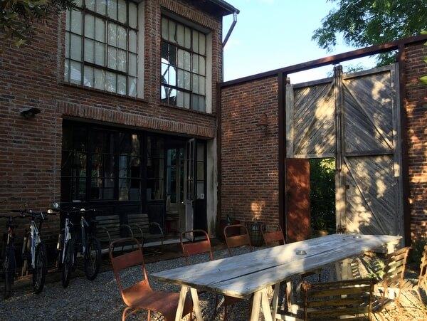 Courtyard, Casa Zinc, Punta del Este, Uruguay