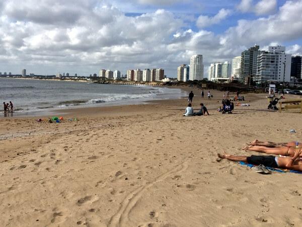 Beach, Punta del Este, Uruguay