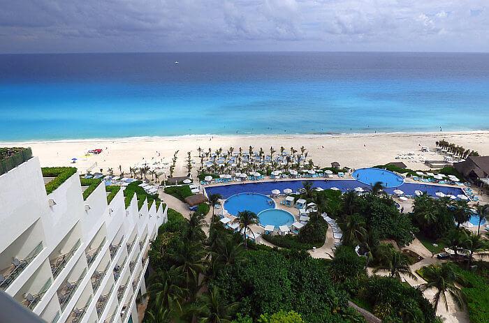 View from Live Aqua Cancun resort