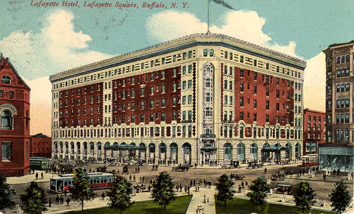 Hotel Lafayette Represents A Turning Point For American Women The In Downtown Buffalo New York Was Built 1904 16 Years Before They Were