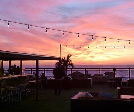 Sunset view from Kimpton Zamora