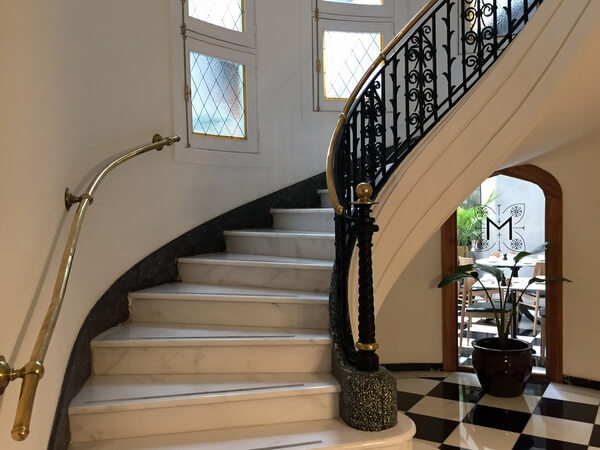 Stairway, Hotel Magnolia, Santiago, Chile