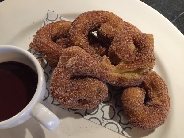 Churros, Q Restaurant, near AC Hotel Portland Oregon