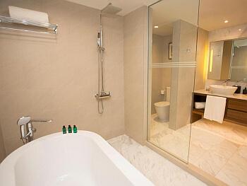 Manila Philippine Plaza bathroom