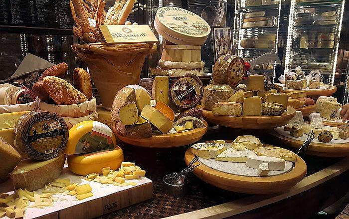 Sofitel Manila Sprial buffet cheese room