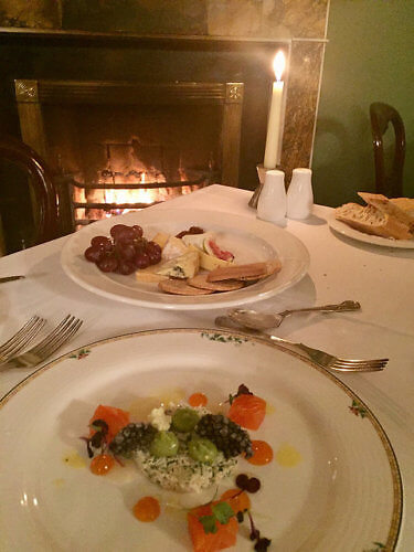 dinner, barton rooms, barberstown castle, ireland