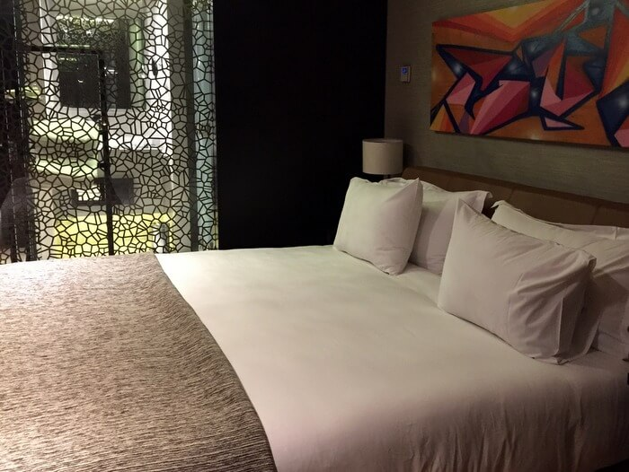 Guest room, Ladera Hotel, Santiago, Chile
