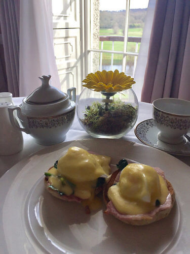eggs benedict, irish breakfast, mount juliet, the lady helen restaurant, kilkenny, ireland