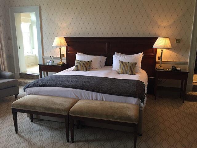 mount juliet, kilkenny hotel, ireland hotel, hotel room