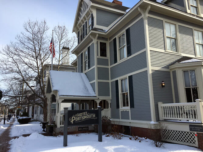 New Hampshire The Intimate 32 Room Hotel Portsmouth Offers Charm And Personalized Service Of A B With Amenities Boutique In