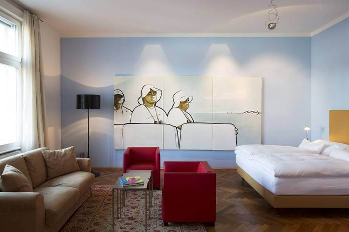 Art Meets Accommodation at the Altstadt Hotel in Vienna