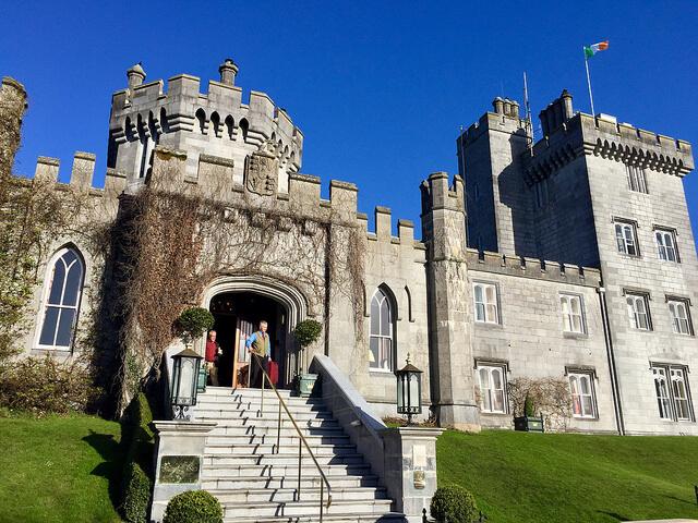 dromoland castle, county clare, wild atlantic way hotel, dromoland castle hotel