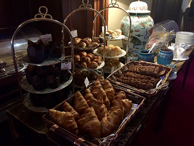 breakfast buffet, dromoland castle, county clare, ireland