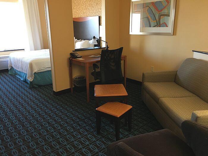Fairfield Inn & Suites Twentynine Palms-Joshua Tree National Park suite
