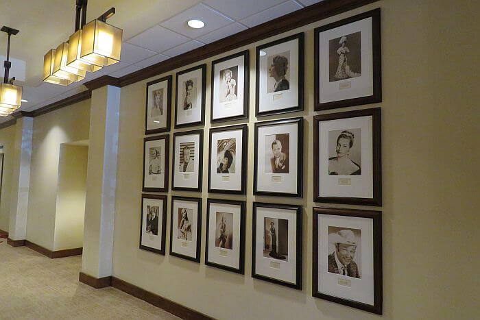 Hollywood photos on display at Lake Arrowhead Resort