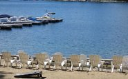 beach at Lake Arrowhead Resort
