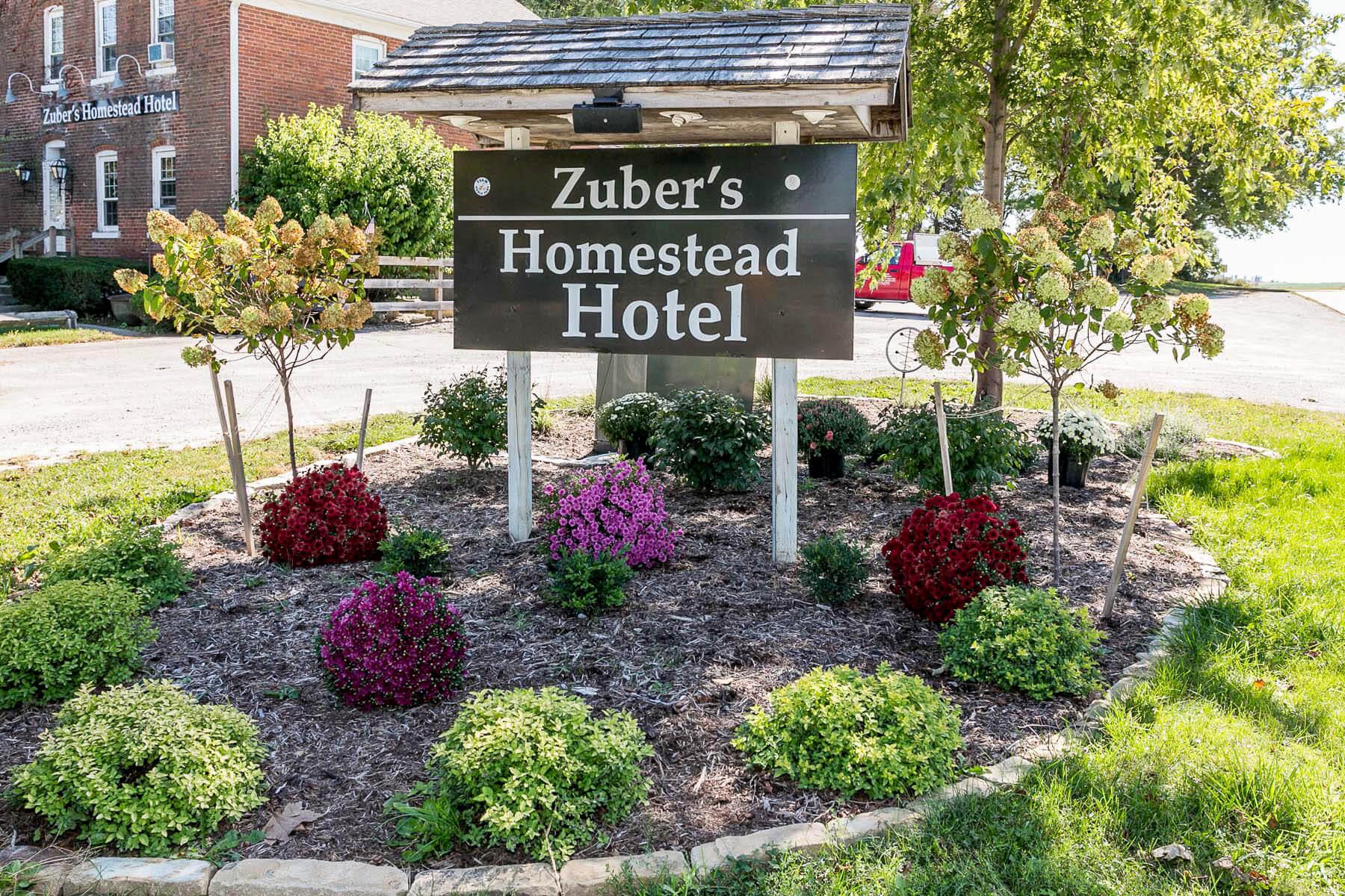 Zuber's Homestead Hotel in Amana Colonies, Iowa