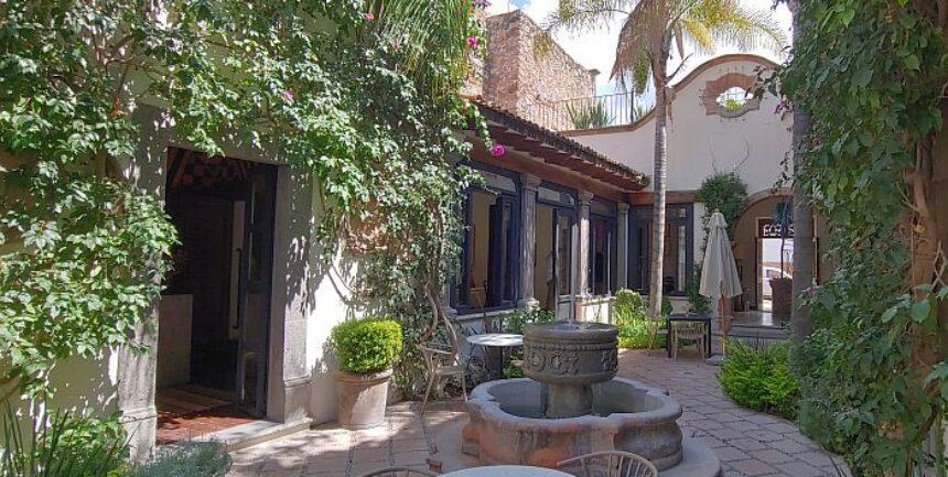 San Miguel de Allende boutique Hotel Amparo