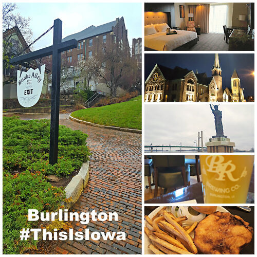 Stay at the Catfish Bend Inn & Spa and experience so many things to do and see in Burlington, Iowa #ThisIsIowa