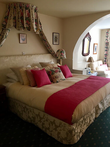 hotel room, cashel house, bed & breakfast, historic hotel, connemara, county galway, ireland