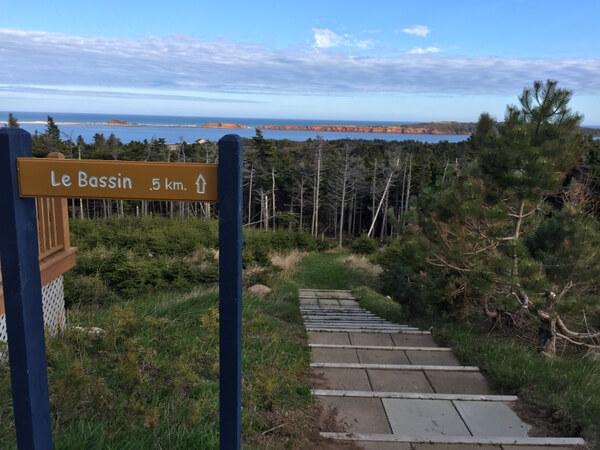 Waterfront, Auberge La Salicorne, Magdalen Islands, Quebec, Canada