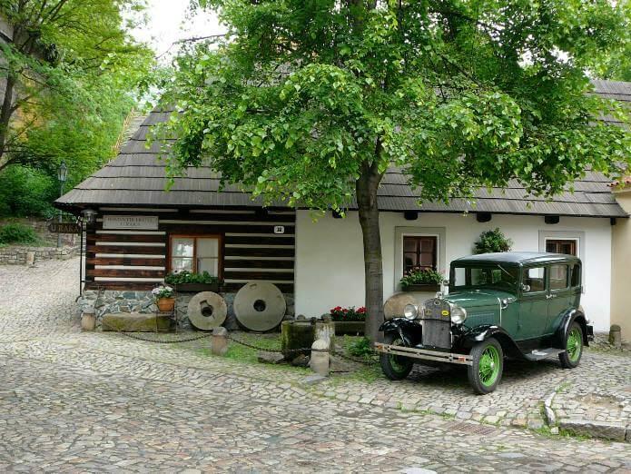 A Secret Garden at Hotel U Raka in Prague