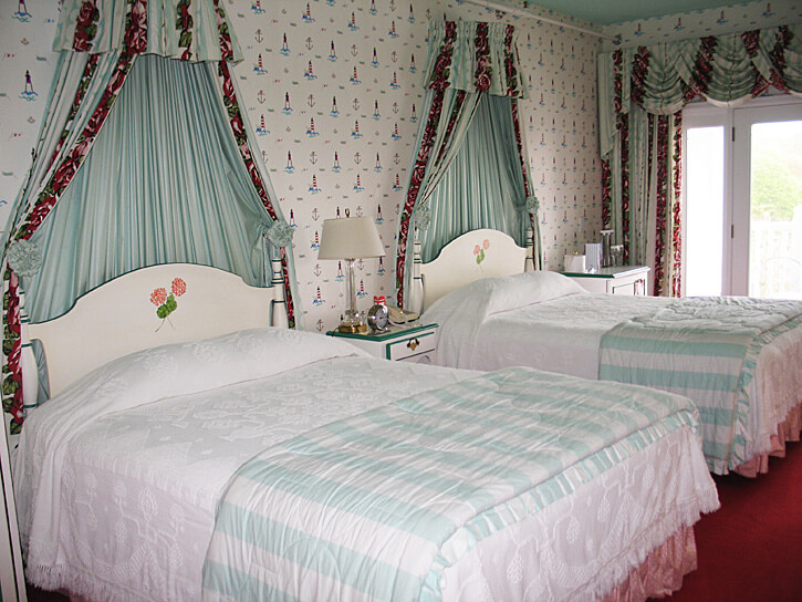 Bedroom, The Grand Hotel, Mackinac Island, Michigan (Photo by Susan McKee)
