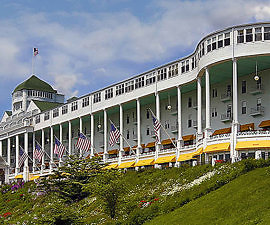 The Grand Hotel, Mackinac Island, Michigan (Photo courtesy of The Grand Hotel)
