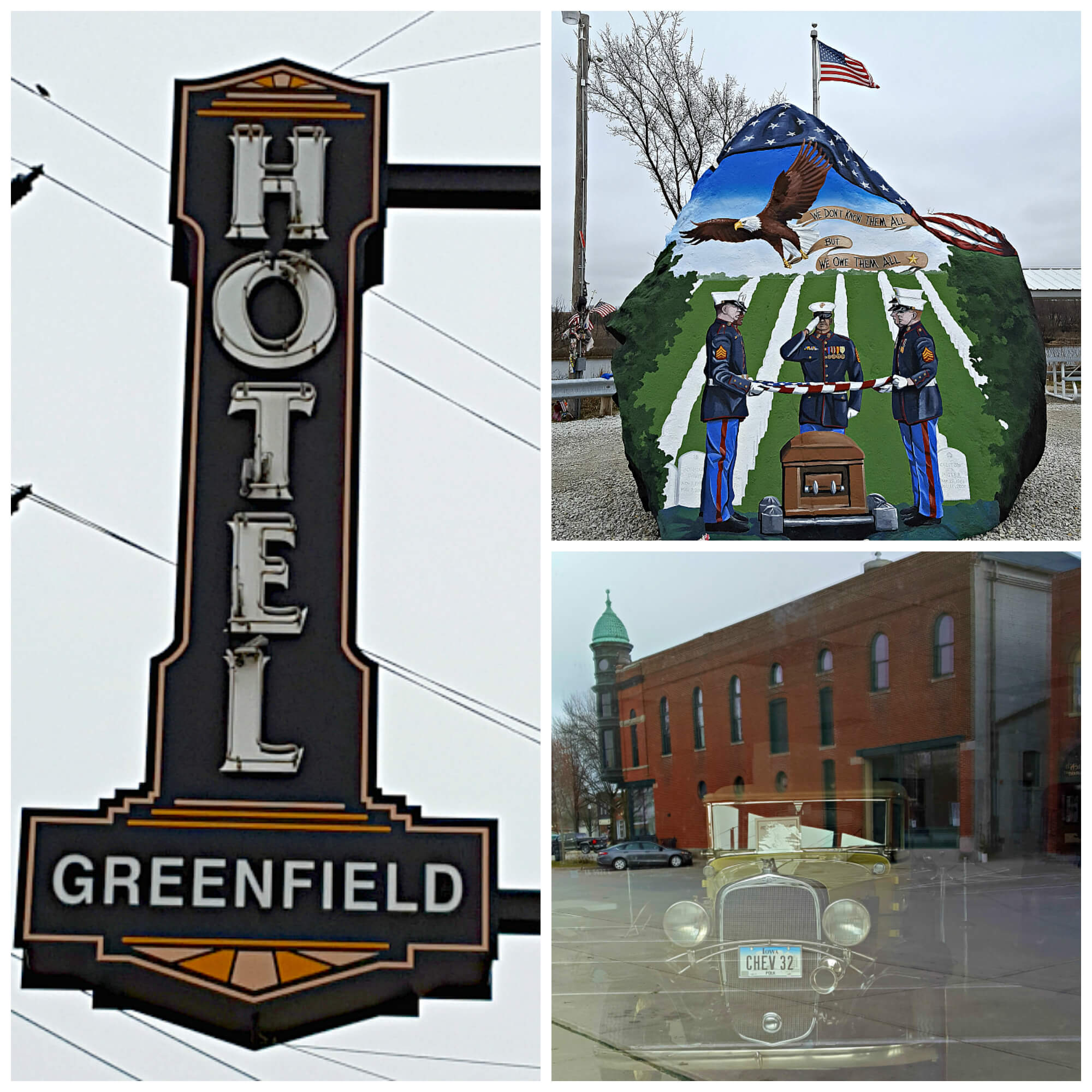 Iowa's Historic Hotel Greenfield is located near many area attractions.