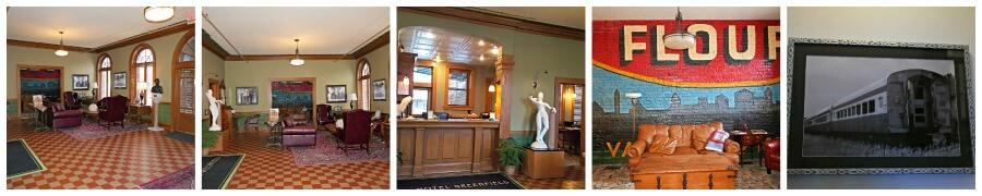 Historic Hotel Greenfield lobby