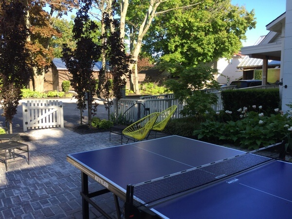 Ping Pong, Drake Devonshire, Prince Edward County, Ontario, Canada
