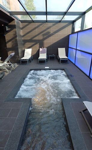whirlpool at Privilege Hotel and Spa Albania