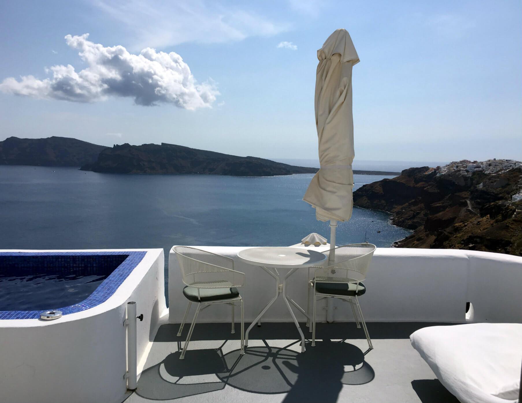 Greek Island Paradise at Ikies Traditional Houses on Santorini