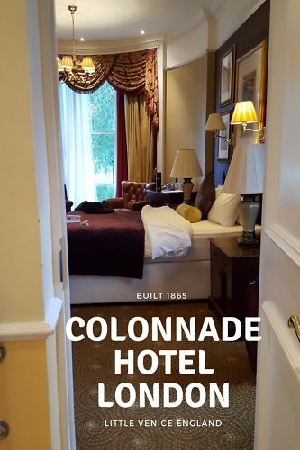 Say hello to the delightful and historic boutique Colonnade Hotel London, steps from the Bakerloo Line and Little Venice, England.