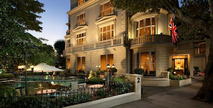 The Colonnade Hotel in Little Venice, London, England