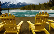 Stay in UNESCO World Heritage Site at Jasper Park Lodge